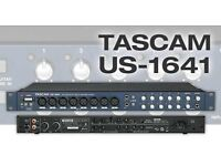 Tascam audio interface 16in/4out/midi
