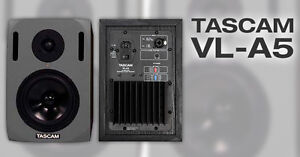 TASCAM VL-A reference monitors and LF-S8 subwoofer