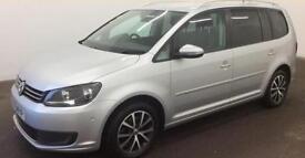Volkswagen Touran 1.6TDI ( 105ps ) 2012MY SEFROM £41 PER WEEK