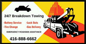 CHEAP TOWING BATTERY BOOST LOCKOUT ROADSIDE ASSISTANCE TOW TRUCK