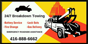 MISSISSAUGA BRAMPTON TOW TRUCK LONG DISTANCE TOWING ROADSIDE 24h