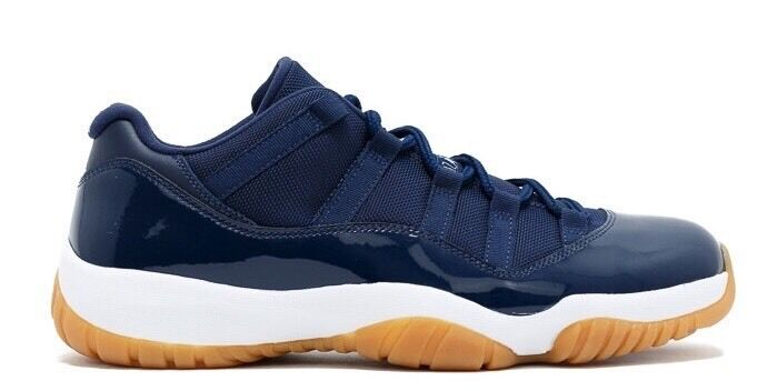 4baae02bc6139a Nike Air Jordan 11 Retro Low Midnight Navy Gum Size UK 7.5 US 8.5 EUR 41  Brand New