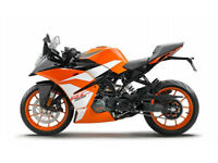 KTM 125 125cc Supersport 2017 RC 125 0% Finance