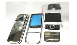For-Nokia-6700c-6700-Classic-Metal-Fascia-Housing-Battery-Cover-Lens-Silver-UK