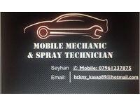Mechanic & Spray Technician [ Best Rates ] Genuine parts