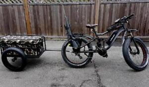 ebike electric fat bike hunting bike snow bike