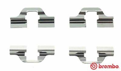 BREMBO A 02 205 Zubehörsatz Bremsbelag Bremsklötze für VW AUDI SEAT