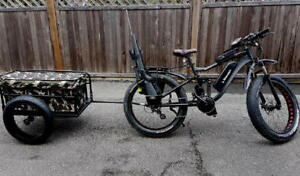 eRanger electric fat bike hunting bike full suspension