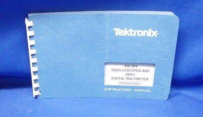 Tektronix 466463 Oscilloscopes Dm44 Operators Manual