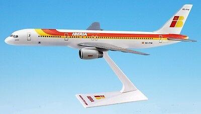 Iberia Airlines  Boeing 757 200    Desk Model