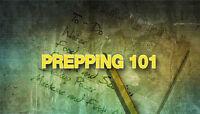 Prepping 101 - In Burlington