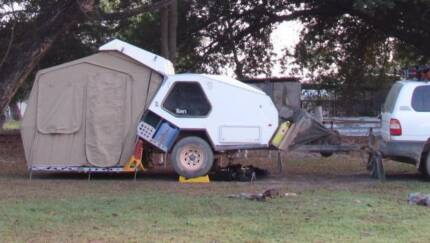 URGENT SALE 2010 Track Trailer TVAN Off Road Camper CAIRNS Mooroobool Cairns City Preview