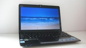 "Fast 12.1"" Windows 7 laptop loaded with software"