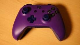 Purple Xbox one s controller been designed