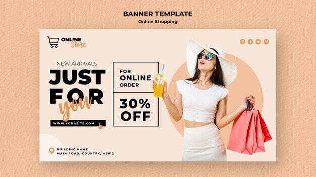 Design Any E Commerce Web Banner Social Media Post - $9.99