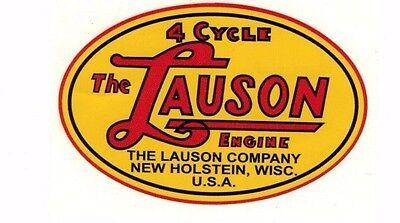 Lauson Gas Engine Motor Decal Hit Miss Tlc Rsc Tecumseh Flywheel Antique