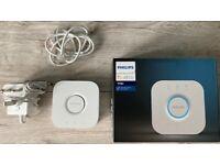 Philips Hue Bridge 2.0 (Works with Alexa), White. Smart Home Lighting System
