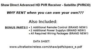 Digital Satellite TV HDPVR 630