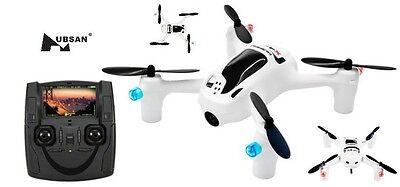 Hubsan H107D+ X4 FPV QuadCopter Drone w/ Live HD Video Camera Mode 2 Transmitter