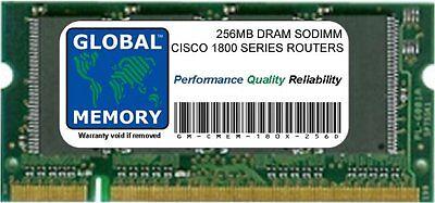 256mb Dram Memoria Sodimm Ram per Cisco 180x/181x Serie Router (Mem180x-256d