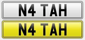 Unique & Appealing Car Registration: N4TAH