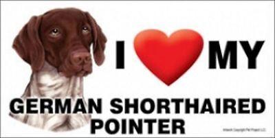 MAGNET--I (Heart) Love My GERMAN SHORTHAIR 4