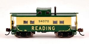 Bachmann-N-Scale-Train-Northeast-Steel-Caboose-Reading-16857