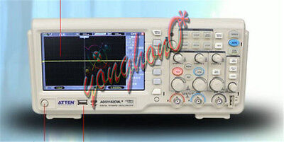 Atten Ads1102cml Digital Oscilloscope 100mhz Scope 7 Lcd Dso Memory Upto 2mpts