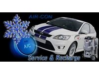 Vehicle air con service and repair