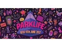 Weekend parklife ticket