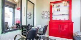 Running Hair & Beauty Salon Shop available to rent in South Harrow