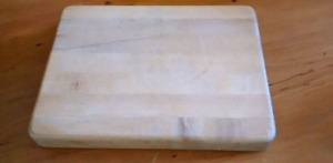 """15"""" x 11"""" x 1 1/2"""" thick Solid Wood Cutting Board"""
