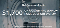 Furnace and AC Replacement Rebates