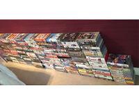 218 VHS tapes - Mixed genres