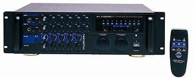 New Vocopro DA-3700 Pro 240 Watt Powered Karaoke Mixer/Amp