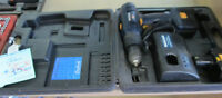 Master Craft Drill with case &2 batteries for sale,store closing