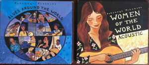 Blues around the world / Women of the world acoustic CD pair