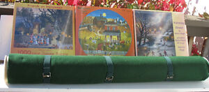 Puzzle Roll Mat and 3 Brand New Puzzles