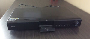 LG Blue Ray Disc Receiver with iPod docking station