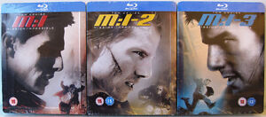 Mission: Impossible Trilogy - Blu-ray SteelBooks For Sale