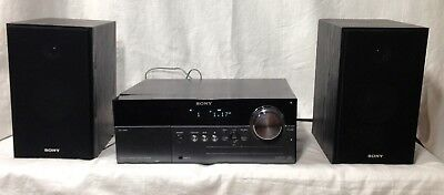 Sony CMT-MX500i Micro HI-FI Stereo System Speakers iPod Dock CD Player