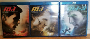 Mission Impossible I, II and III Blu-rays - $20/$7.50 Each/OBO