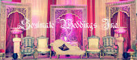 Bollywood Style, Fusion of East/ West wedding Decor services