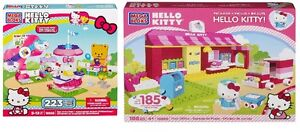 LOT DE 2 MEGA BLOKS HELLO KITTY # 10900 ET # 10956 NEUF