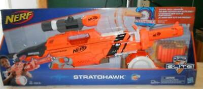 Nerf N-Strike Elite Accu Strike Stratohawk Orange Rapid-Fire Precision Blaster