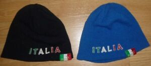 Black and/or Blue Italian Winter Hat - Used