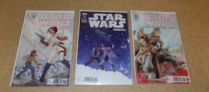 STAR WARS ANNUAL #2 & 3, STORMS OF CRAIT #1, MARVEL COMICS, NM