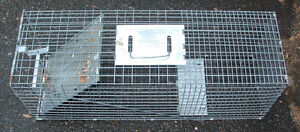Various Sized Live Animal Traps