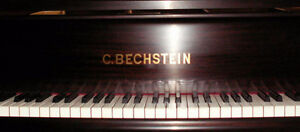 1889 C Bechstein Grand Piano Restored & Refinished West Island Greater Montréal image 2
