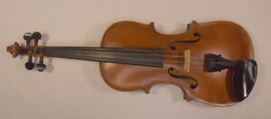 Hopf 4/4 violin restored & ready to play